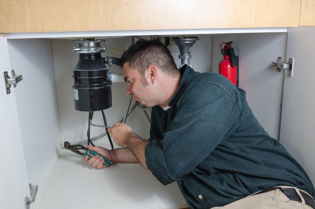 plumbing repairs - garbage disposal repair